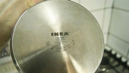 Значок на посуді для індукційних плит (8 фото): як виглядає знак індукції на сковороді і іншомупосуді? Особливості маркування