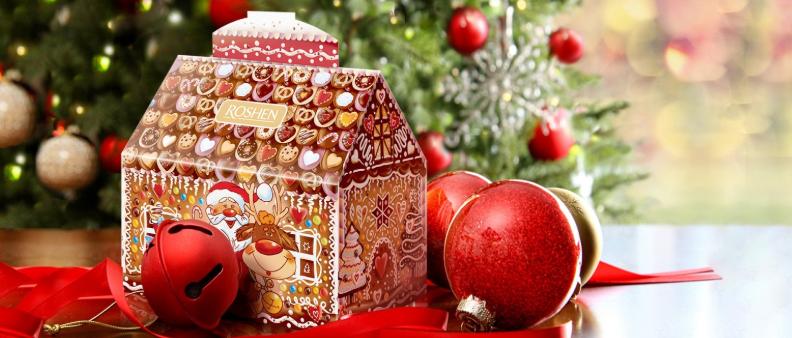 Выбираем интересный новогодний подарок под елку от Рошен