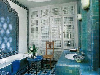 Бірюзова ванна кімната (61 фото): приклади дизайну ванної в цьому кольорі. Розбираємося в тонах, створюємо гарний інтер'єр
