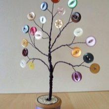 Дерево з дроту своїми руками (28 фото): як зробити з мідного дроту, намистин і гіпсу? Покрокова інструкція грошового дерева для початківців
