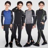 Дитяча термобілизна для футболу: вибираємо компресійну одяг для занять спортом, огляд спортивних моделей для дітей-футболістів