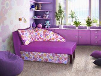 Дитячий диван-кушетка: вибираємо розкладний варіант для дітей, диван-тахту, моделі з ящиком і без. Кольори і дизайн