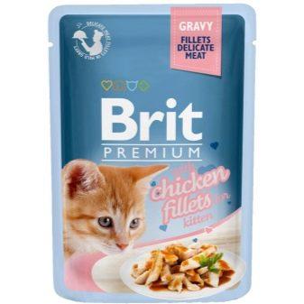 М'який корм для кошенят: який вологий корм є кращим? Рейтинг виробників вологих кормів. Відгуки