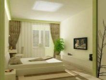 Поєднання штор і шпалер в спальні (46 фото): які штори підійдуть до рожевим і персиковим, золотавим і жовтим, темним коричневим і іншим шпалер?