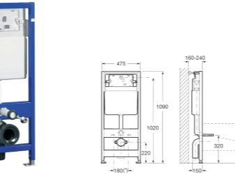 Приставний унітаз (40 фото): особливості підлогових пристінних унітазів з прихованим бачком, огляд укорочених моделей і унітазів з поличкою в чаші