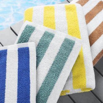 Рушник для басейну: вибираємо великий рушник з мікрофібри, абсорбує і вбирає. Як доглядати?