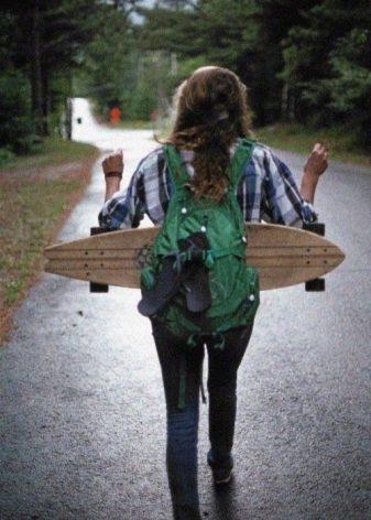 Рюкзак для скейтборда: як вибрати чохол або сумку-переноску з кріпленням для скейта?
