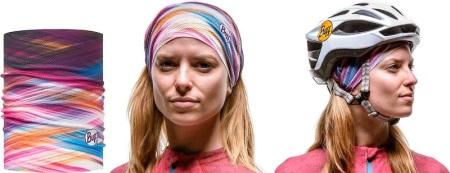 Шарф-бандана (47 фото): пов'язка на шию з черепом, шийна бандана Buff, як носити шарф-бандану