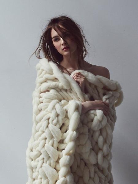 Шарф великої в'язки (52 фото): як носити моделі з товстої пряжі, візерунки для дуже товстих ниток
