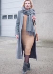 Шарф з мохеру (54 фото): ажурний шотландський візерунок, моделі з кід мохеру, англійської гумкою