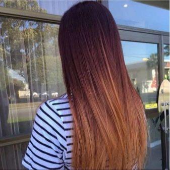 Шатуш на прямих волоссі (41 фото): фарбування темних і русявого волосся середньої та короткої довжини. Як пофарбувати довге волосся?