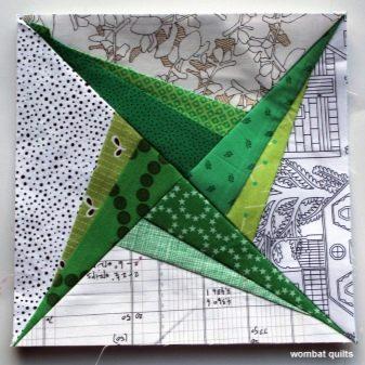 Шиття по папері печворк: схеми клаптикового шиття для початківців, найкрасивіші ідеї, майстер-клас з англійської способом, шаблони