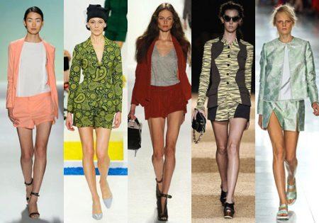 Шорти і піджак – костюм (36 фото): жіночі комплекти