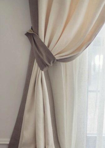 Штори на люверсах в спальню (42 фото): дизайн тюлю і штор на кільцях, гарні приклади. Поради щодо вибору штор на люверсах в спальню