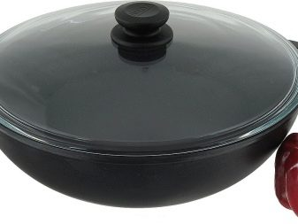 Сковороди «Біол»: опис чавунних млинцевих сковорідок, сковород-гриль, вок і інших моделей, відгуки