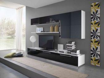 Вітальні шафи в сучасному стилі (47 фото): види шаф для вітальні. Як вибрати підходящий варіант?