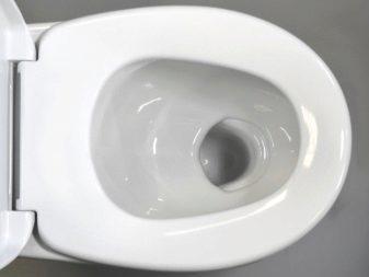 Види унітазів по чаші (30 фото): квадратні і прямокутні тарілчасті, козиркові і воронкоподібні види унітазу. Їх особливості