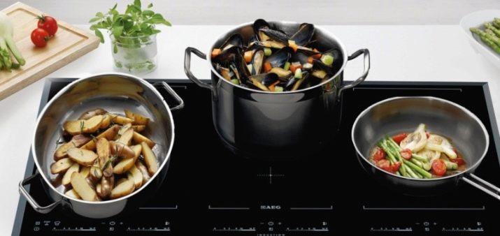 Значок на посуді для індукційних плит (8 фото): як виглядає знак індукції на сковороді і іншої посуді? Особливості маркування
